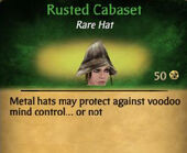 Rusted Cabaset Female
