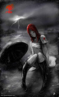 Creepy Erza Fanart