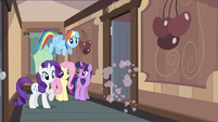 Rarity & Rainbow Dash dannnnnng S2E14