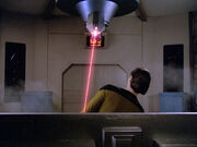 Data avoids laser drill