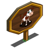 Red Brown Calf Mastery Sign-icon