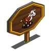 Bull Calf Mastery Sign-icon