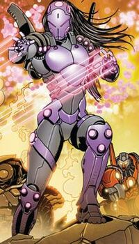 Sasha Hammer (Earth-616) from Invincible Iron Man Vol 1 522