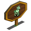 Shamrock Unicorn Foal Mastery Sign-icon