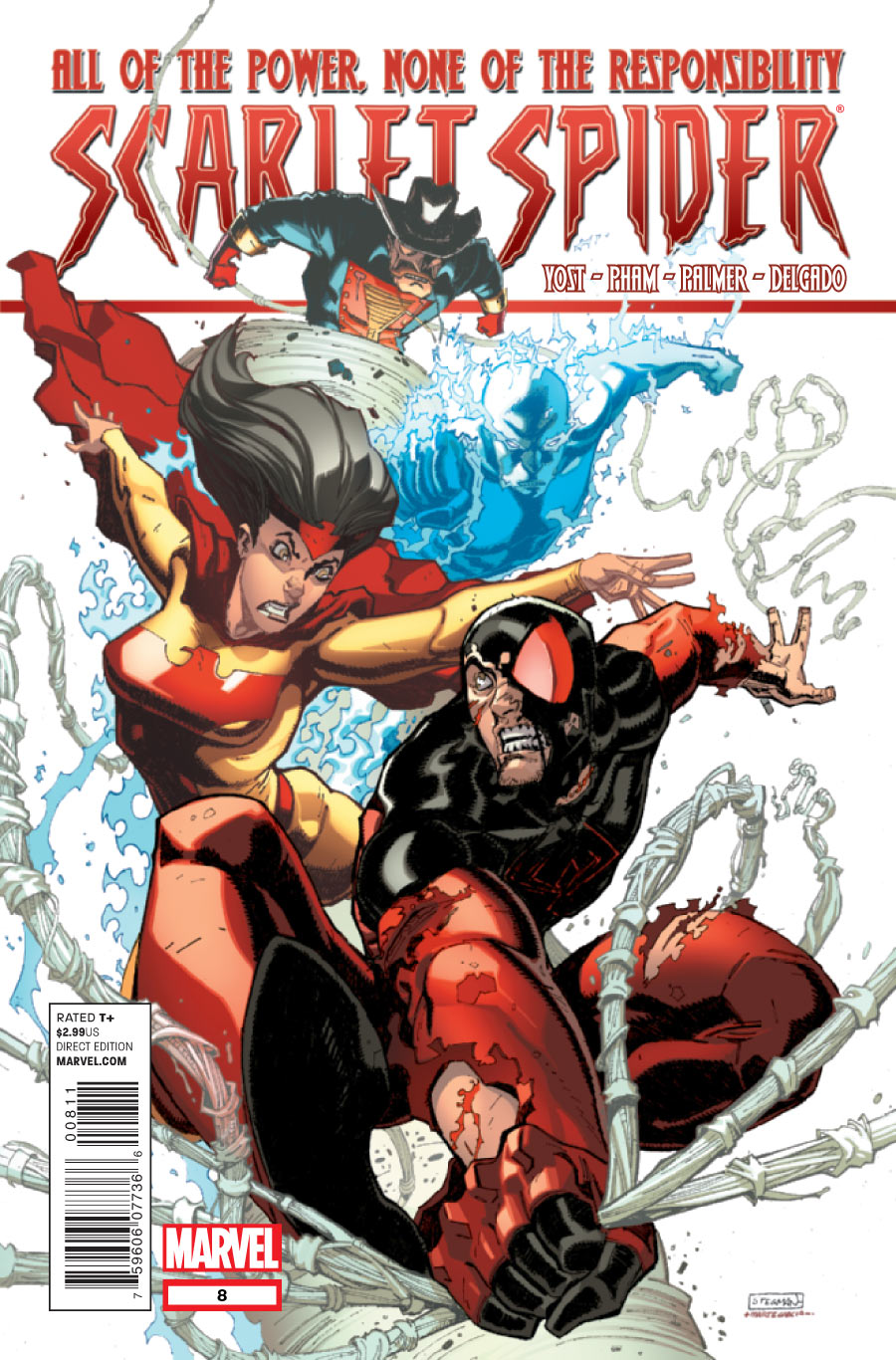 Scarlet Spider Vol 2 8 - Marvel Comics DatabaseScarlet Spider Vs Scarlet Spider