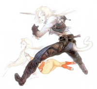 Yoshitaka Amano Zidane FFIX