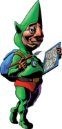 Tingle Artwork - Majora's Mask