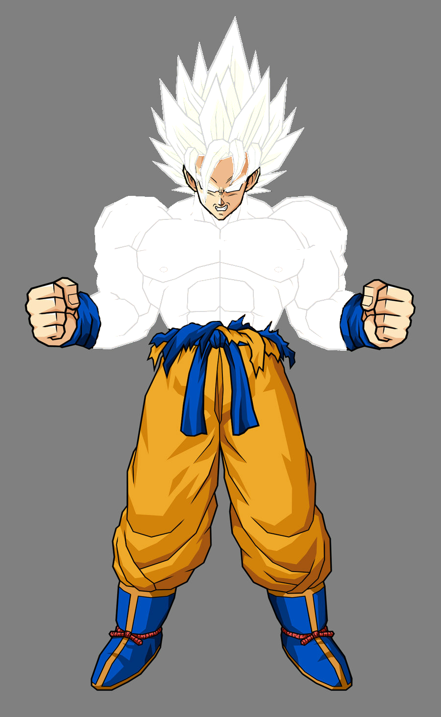 White super saiyan ultra dragon ball wiki - Super sayenne ...