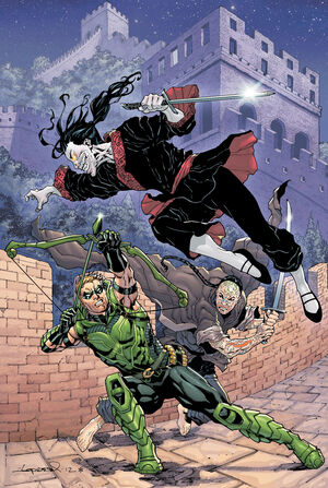 Cover for Green Arrow #13
