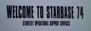 Starfleet Operational Support Services sign