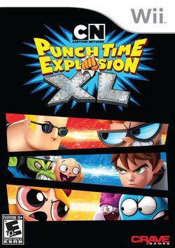 Cartoon Network Punch Time Explosion (Wii) (NA)