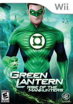 Green Lantern Rise of the Manhunters (Wii) (NA)