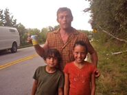 Lomax kids and Reedus