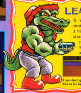 Leatherhead NintendoPower