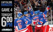 MSG Network&#39;s New York Ranger Hockey Video Promo For Wednesday Night, April 20, 2012