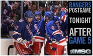 MSG Network&#39;s New York Rangers Post Game Show Video Promo For Saturday Night, April 23, 2011