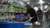 WNBC-TV's News 4 New York At 5's Chain Store Challenge Video Promo For Monday Evening, August 6, 2012