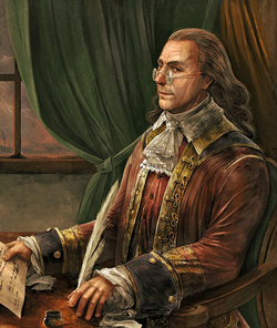 Benjamin Franklin concept Gameinformer