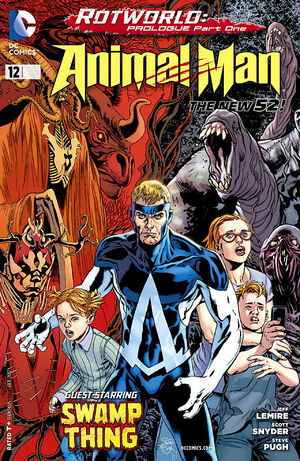 Cover for Animal Man #12