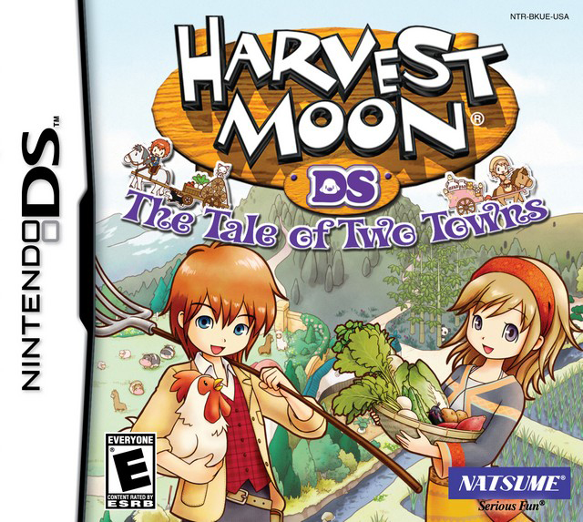 Harvest Moon The Tale of Two Towns (DS) (NA)