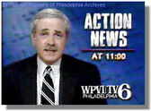 WPVI-TV's Channel 6 Action News Tonight Video ID From May 1991