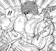 Toriko eating Poison Potato