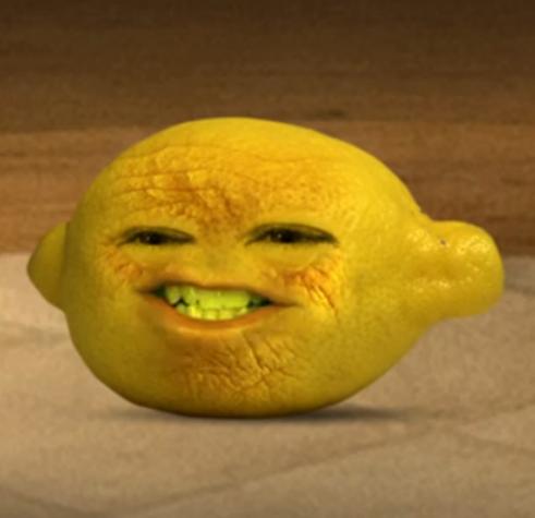 annoying orange grandpa lemon - photo #7
