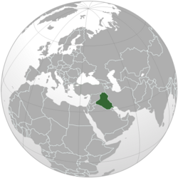Iraq map