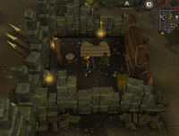 Emote clue Yawn rogues' general store