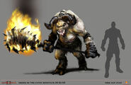 Hades Minotaur in God of War II