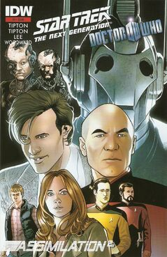 Star trek doctor who 1 third printing