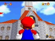 Princess Peach's Castle - Close-up - Super Mario 64