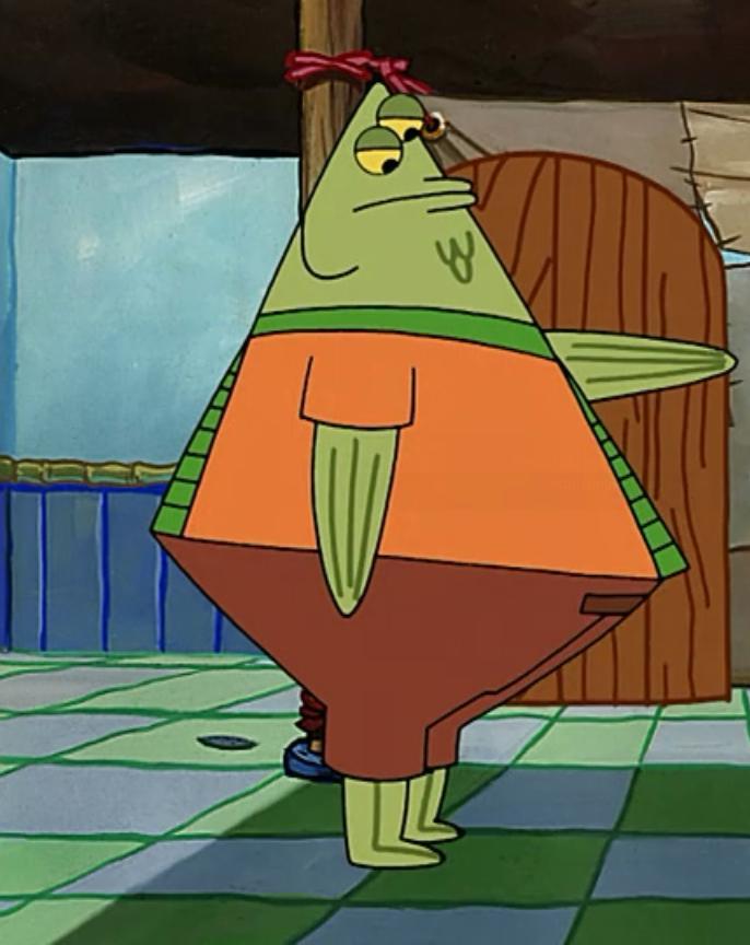 Spongebob Squarepants Family Karakter karater di