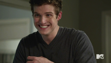Isaac smiles