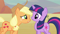 Applejack the mayor S2E14