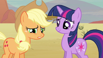 Applejack face her S2E14