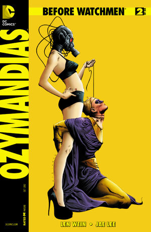 Cover for Before Watchmen: Ozymandias #2