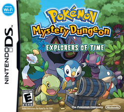 Pokemon Mystery Dungeon Explorers of Time (NA)