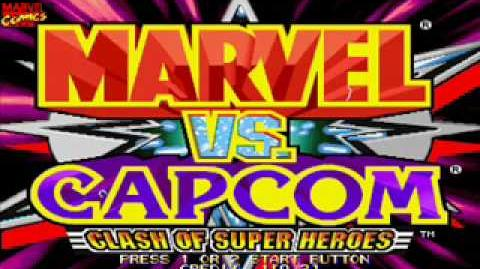 Marvel vs Capcom OST 10 - Gambit's Theme
