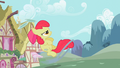 Apple Bloom launching the ring S02E06.png