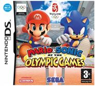 Mario & Sonic at the Olympic Games Cover Art