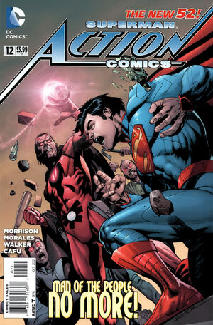 Cover for Action Comics #12