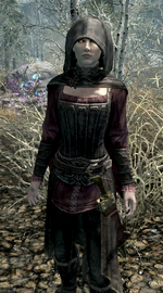 Serana with Hood