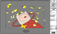 Modelsheet Finn in PJs with Butterflies -2 - Special Pose