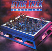 Franklin Mint Star Trek Chess Set