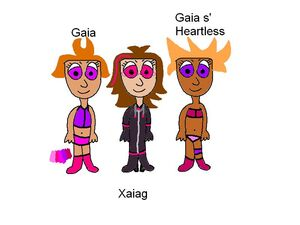 Gaia Xaiag Gaia s' Heartless
