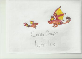 Cinder dragon