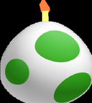 Yoshi Egg Bomb