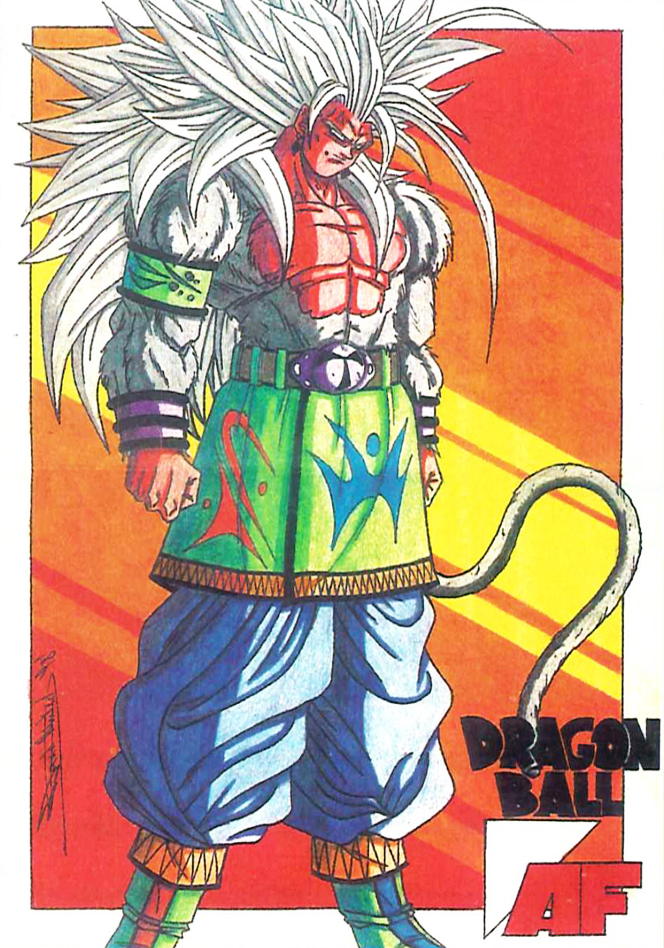 Dragon ball af dragon ball wiki - Goku 5 super saiyan ...