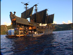 Pirates of the caribbean the black pearl barge